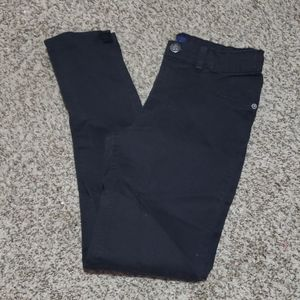 Childrens Place Girls Jeggings Sz 14 Black